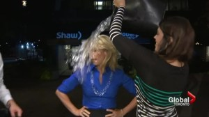 Global's Carolyn MacKenzie takes Ice Bucket Challenge