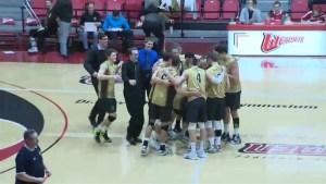 HIGHLIGHTS: Men's Volleyball – Bisons vs Wesmen Dec. 7
