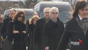Legal community attend Edward Greenspan funeral