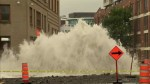 Water main break leads to flooding, evacuations and power outages