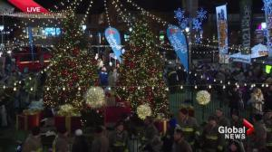 Global News Toy Drive Live: tree lighting ceremony
