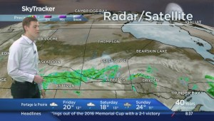 Global's Cole Deakin with your SkyTracker weather May 26th