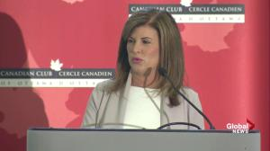 Rona Ambrose officially resigns as Interim Conservative leader, MP