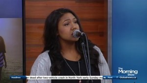 Desiree Dawson performs 'Hey Brother' on The Morning Show