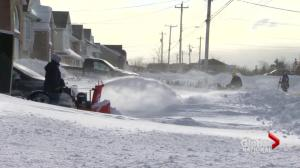 Valentine's Day blizzard blasts Newfoundland & Labrador with 100 km/h winds