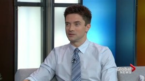 Topher Grace on working alongside Brad Pitt in his new film