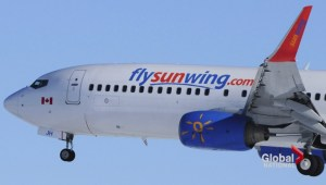 More trouble aboard Sunwing flight