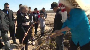Lake St. Martin First Nation breaks ground for new school 6 years after devastating flood