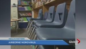 Airborne norovirus