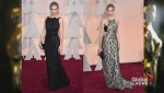 Style expert flips Oscars red carpet outfits around