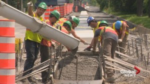 Dorval bike path construction starts