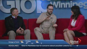 Huge snails slide onto Winnipeg's Morning News