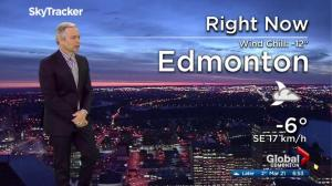 Edmonton early morning weather forecast: Tuesday, March 21, 2017