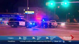 Pedestrian hit by vehicle in southeast Calgary