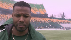Edmonton Eskimos' receiver pays tribute to brother who was shot and killed