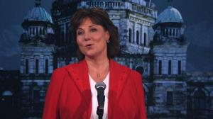 BC Leaders Debate: Christy Clark on corporate donations