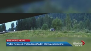 Chilliwack fatal shooting surveillance video