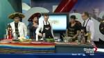 In the Global Edmonton kitchen with 3 Amigos