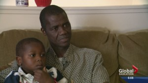 Sierra Leone community worries about family back home