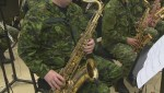 RCAF Air Band making noise for charity