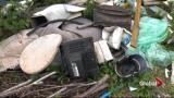 Illegal dumping in Nova Scotia