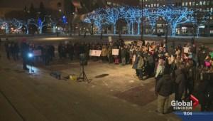 Ferguson protest in Edmonton