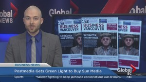 BIV: Postmedia gets green light to buy Sun Media