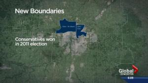 Alberta's new federal ridings