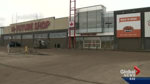 Future Shops closing in Edmonton