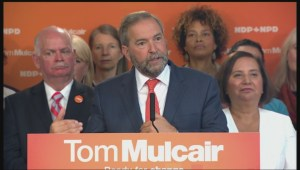 Thomas Mulcair says increased support for childcare is a program that will pay for itself