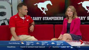 Stampeders take on Blue Bombers