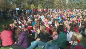 Students celebrates Terry Fox Run anniversary