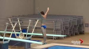 Saskatoon diver competing at Canada Games after suffering concussion
