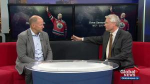 Kevin Lowe speaks about celebration of life planned for late Oiler Dave Semenko