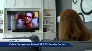 Cable companies reveal $25 TV bundle details