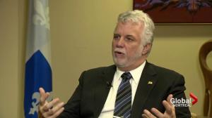 Philippe Couillard: A year in review