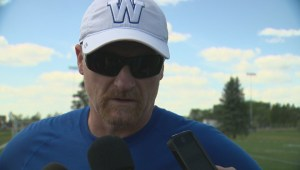 RAW: Blue Bombers Mike O'Shea Media Briefing – Aug. 10