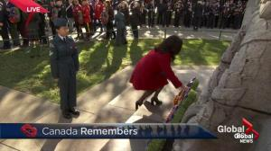 British Columbians pack Victory Square for Remembrance Day ceremony