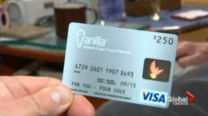 Pre-paid cards may not deliver