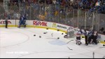 Canucks and Flames brawl at end of game 2