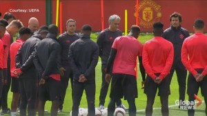Manchester United holds moment of silence in honour of victims in Manchester attack