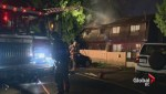 North Vancouver fire at residential complex