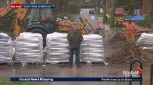 Sainte-Anne-de-Bellevue prepares for flooding