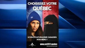 Campaign poster for Gouin by-election stirs controversy
