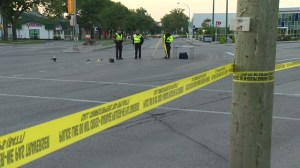 Police say victim was pushed from vehicle then run over