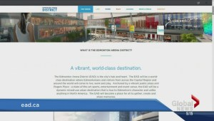 Edmonton Arena District website