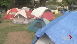 Oppenheimer Park homeless camp…one month later