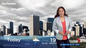 Edmonton early morning weather forecast: Tuesday, June 27, 2017