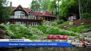 Maple Leafs legend Wendel Clark lists Muskoka cottage on Airbnb