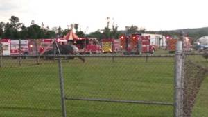 2 dead, more than a dozen injured after circus tent collapse